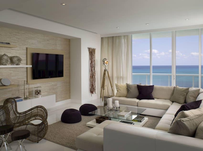 grasscloth wallpaper living room