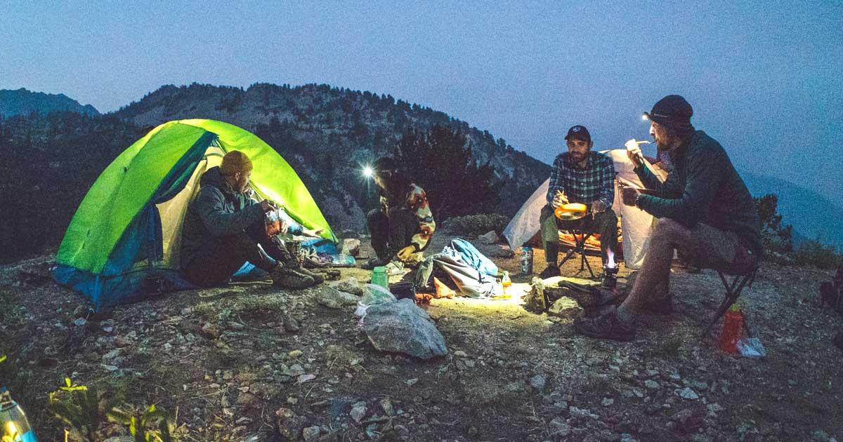 Freestanding Hiking Tentsjpg