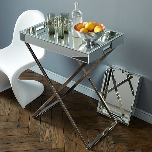 Serving Tray as Bar