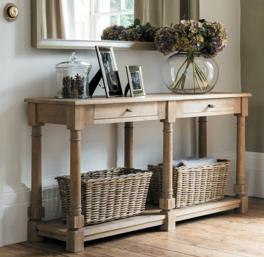 hallway console tables