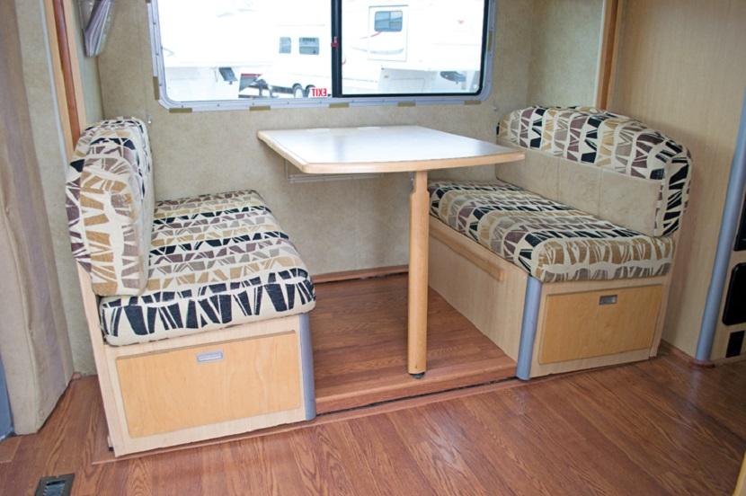 Beautiful Pocket Camper 2012 Kalispell Travel Trailer Table Hinge Photo 13