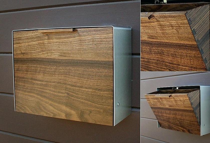 Wooden-Mailbox