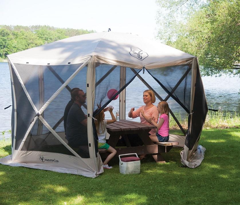 portable camping gazebo