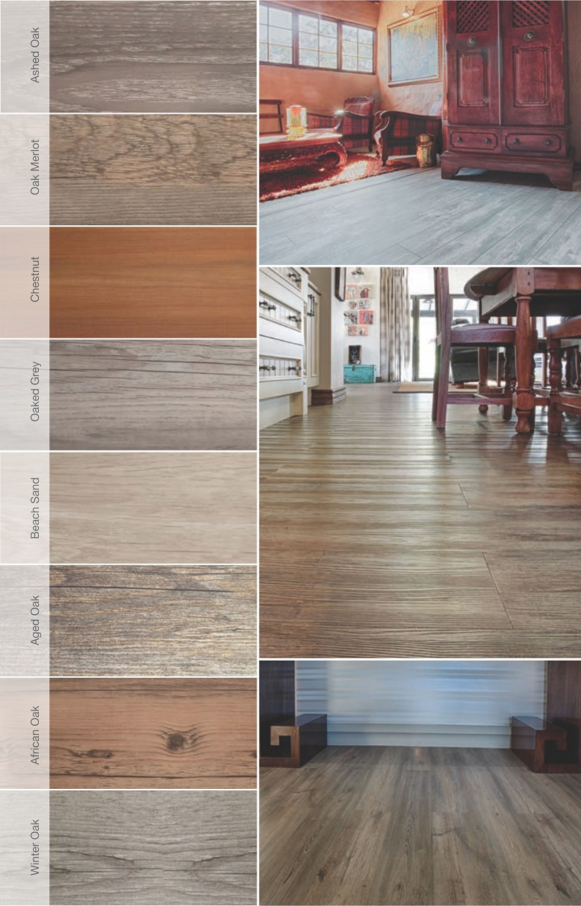 types of vinyl floor