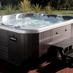 Square Spas That'll Bring Your Home from Zero to a Hundred