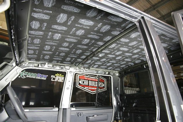roof 4x4 products for sound proof insulation
