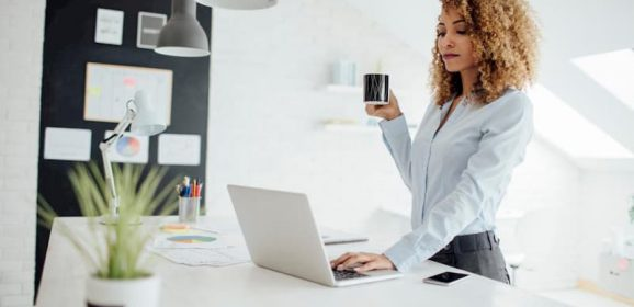 Stand Up to the Risks of Sitting with a Standing Desk