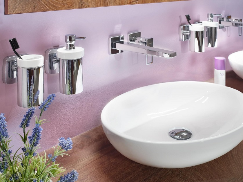 Soap Dispensers and Toothbrush Holders