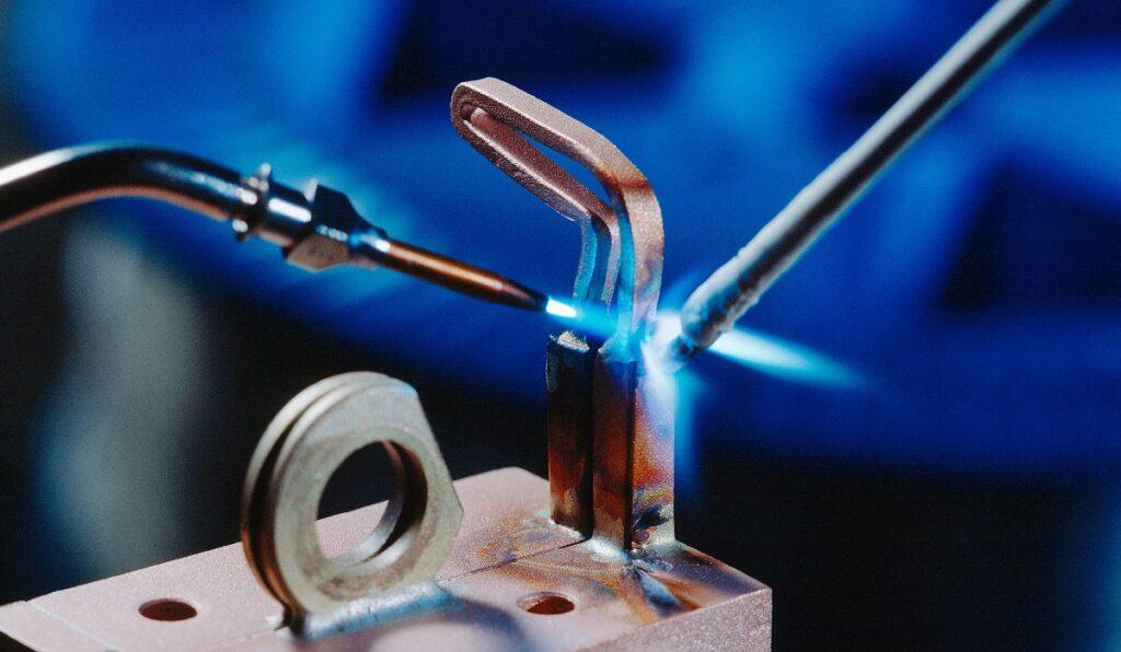 metal brazing process